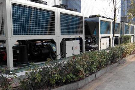 新疆低温热泵集中供暖冬季稳定40度热水