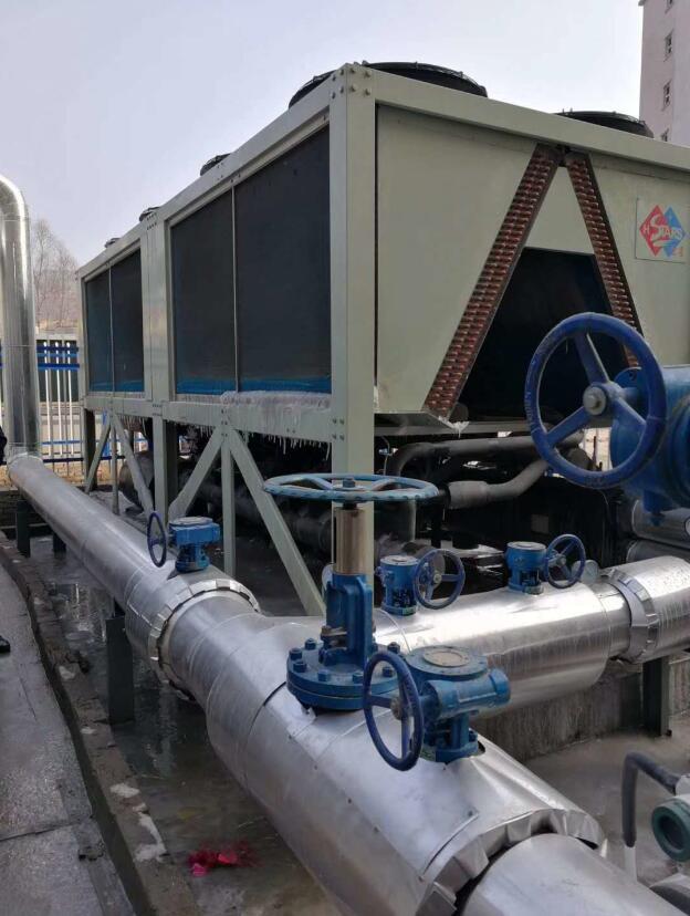 宏星空气源热泵机组 洗浴 供暖 煤改电