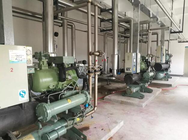 药厂净化空调系统冷水机机房
