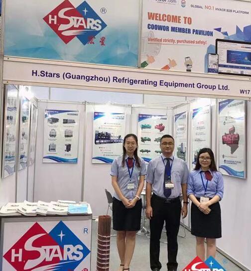 恒星制造首次亮相泰国,RHVAC制冷展圆满成功